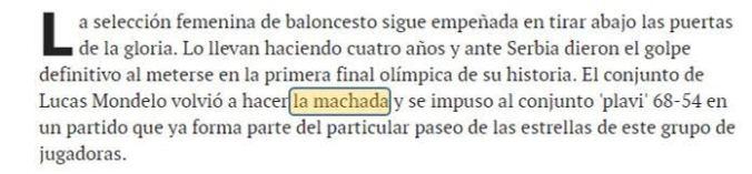 machada